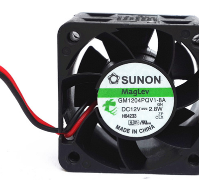 gm1204pqv1-8a  fan new 2 wires